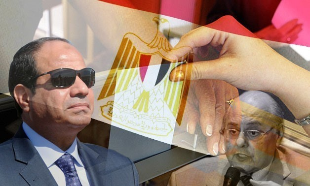 2018 presidential election - photo combined by Egypt Today