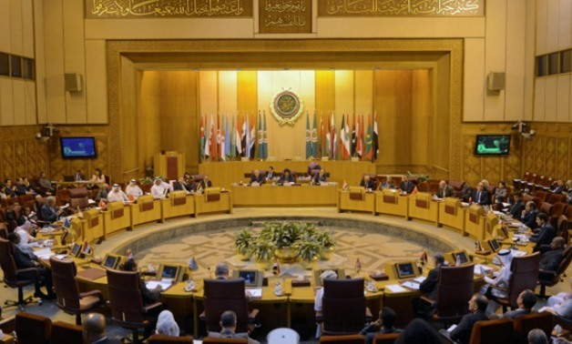 FILE – A general view of the Arab League delegates meeting, Egypt, December 5, 2017/REUTERS