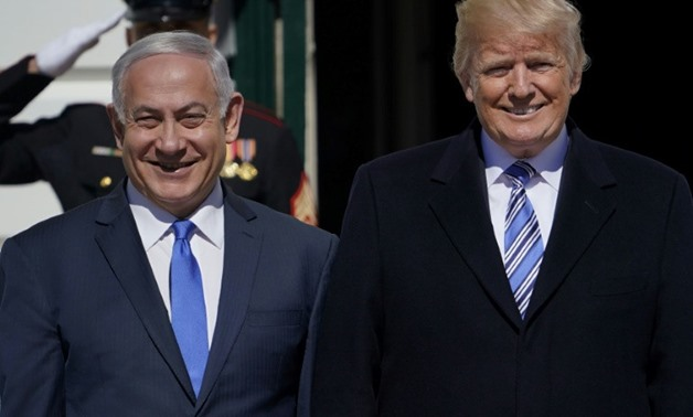 Israeli Prime Minister Benjamin Netanyahu Netanyahu praised President Donald Trump's highly contentious decision to move the US embassy to Jerusalem, during a meeting at the White House - AFP