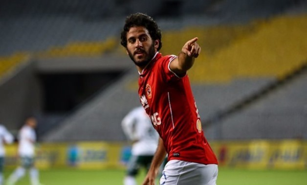 FILE – Al Ahly and Egyptian National Team striker Marwan Mohsen