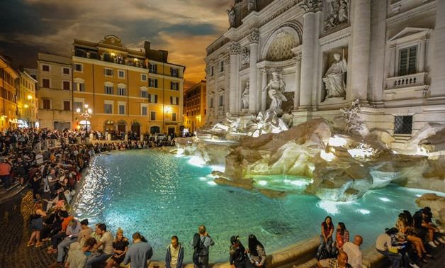 Trevi Fountain in Rome- CC via publicdomainpictures.net/ Kirk F