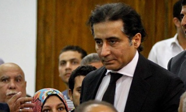 FILE - Egyptian steel tycoon Ahmed Ezz at court