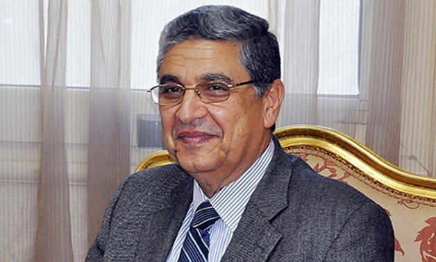 FILE - Minister of Electricity and Renewable energy Mohamed Shaker