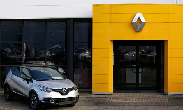 A Renault car dealership on Thursday in Strasbourg, France. Renault shares plunged over 20 percent before recovering some - Vincent Kessler/ Reuters