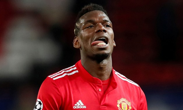 Soccer Football - Champions League Round of 16 Second Leg - Manchester United vs Sevilla - Old Trafford, Manchester, Britain - March 13, 2018 Manchester United's Paul Pogba looks dejected after the match REUTERS/David Klein TPX IMAGES OF THE DAY