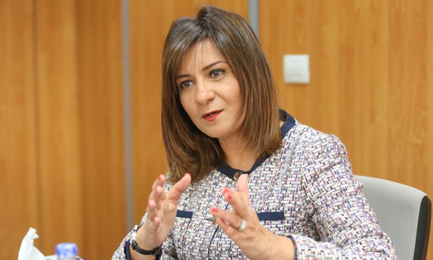 Minister of State for Migration and Egyptian Expatriates Affairs Nabila Makram - FILE
