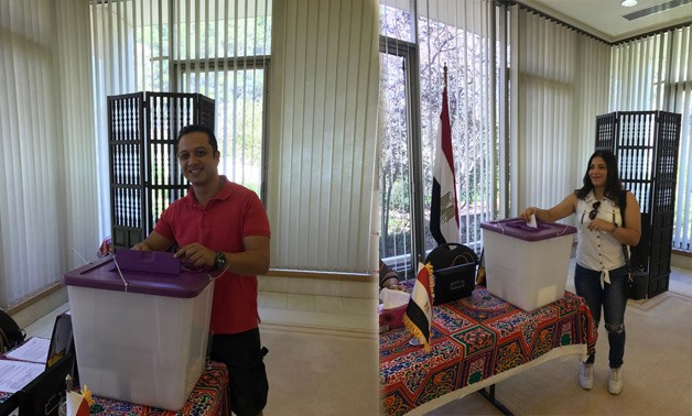 Egyptians in Australia participate in the Egyptian presidential elections 2018.