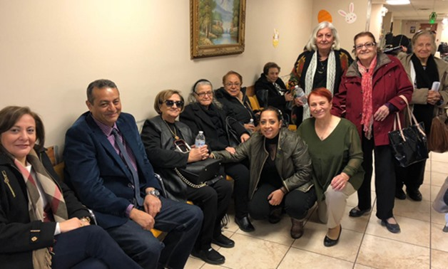 Egyptian expatriates at Egyptian embassy in New York to vote in the presidential election - Egypt Today