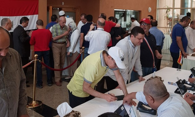 Egyptian expats vote in presidential election at Consulate in Qatar- Egypt Today