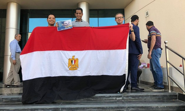 Egyptians voted in the 2018 presidential election in Doha - Press photo/Egyptian embassy in Doha Facebook page