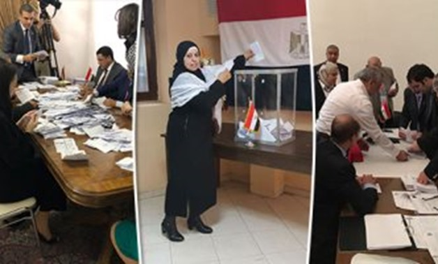 Sorting process starts at Egyptian embassy in Los Angeles