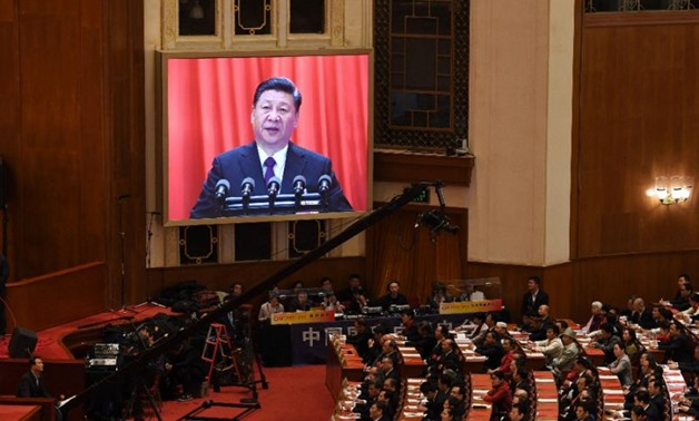 President Xi Jinping is now China's most powerful leader since Mao Zedong - AFP