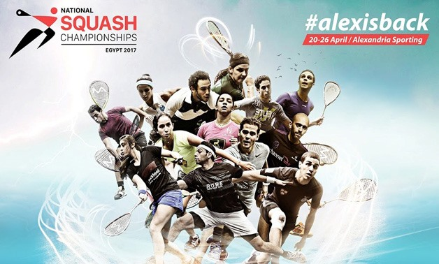 Egypt's top squash players- Photo via Egyptian National Squash Championships Facebook page