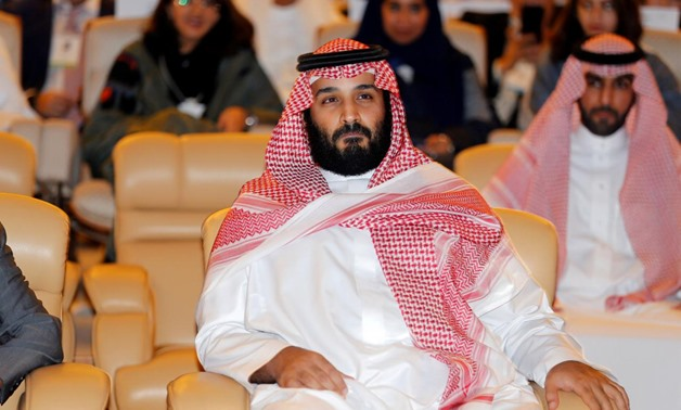 FILE PHOTO: Saudi Crown Prince Mohammed bin Salman, attends the Future Investment Initiative conference in Riyadh, Saudi Arabia October 24, 2017 - Reuters