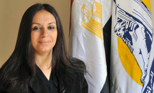 FILE: Head of the National Council for Women (NCW) Maya Morsi