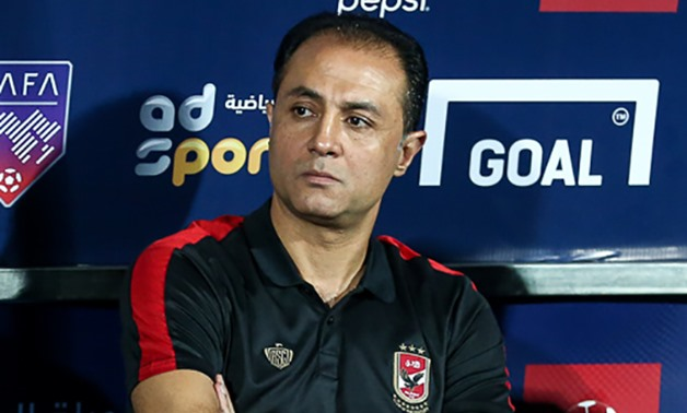 FILE – Al Ahly assistant coach, Ahmed Ayoub