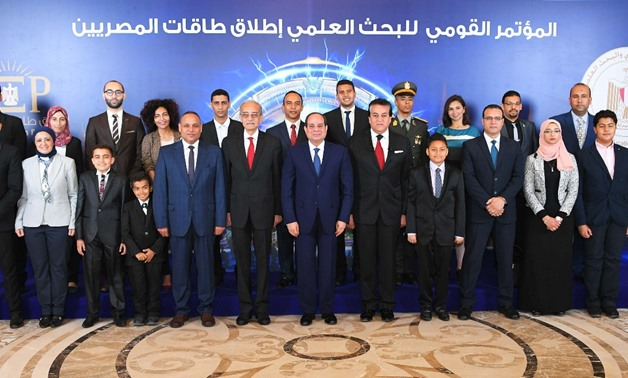 Sisi hails scientists' role in Scientific Research conference