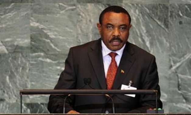 Ethiopia's former prime minister Hailemariam Desalegn. Picture: AFP.