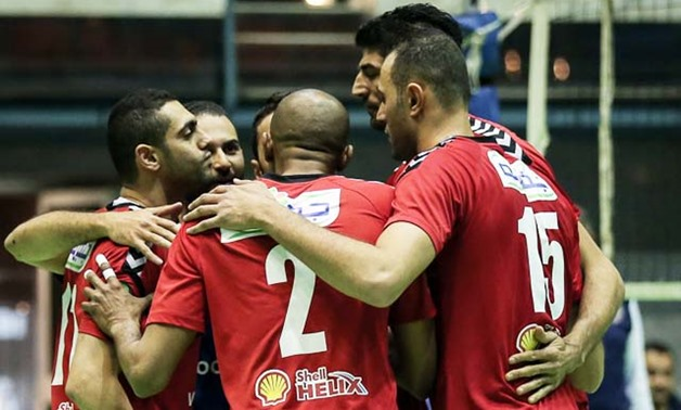 File- Al-Ahly volleyball team