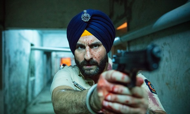 Promotional still for Sacred Games, March 27, 2018 – Netflix Email Statement