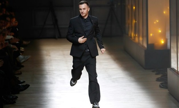 Kris Van Assche left Dior Homme after 11 years at the head of the French menswear label - AFP/File / PATRICK KOVARIK