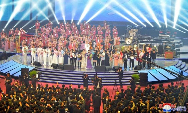 "The show culminated with all the musicians joining together to sing the North's ""See You Again"" and the common Korean children's song ""Our Wish is Reunification"", after which the audience gave a standing ovation that lasted for more than 10 minutes"