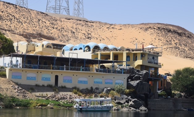 Nubia houses in Aswan - Egypt today/ Walaa Ali