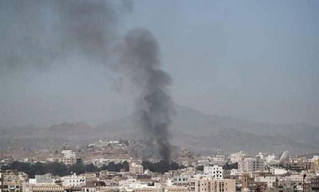 Saudi-led coalition says missile intercepted near Yemen border
