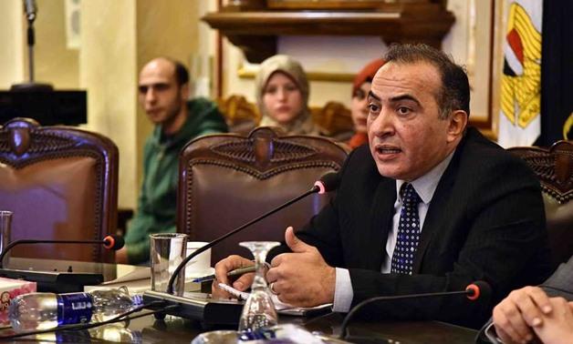Editor-in-Chief of Egyptian newspaper Al-Masry Al-Youm Mohamed al-Sayed Saleh - File photo/via Al-Masry Al-Youm