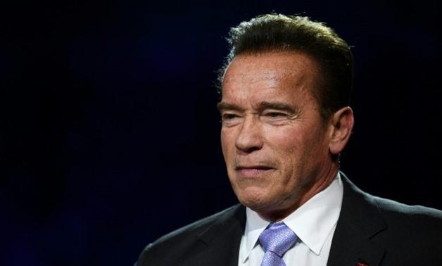 Arnold Schwarzenegger has returned home after undergoing open heart surgery following complications with a routine operation.