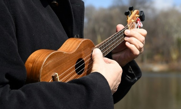 A member of the Ukulele Orchestra of Great Britain, which has managed to infuse the unassuming instrument with a punk-rock spirit