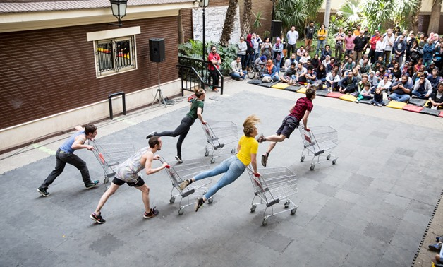 Street performances: Urban Visions (Trolleys, Dedicated To..., Square one, and Shapers) - Photo courtesy of D-Caf media office