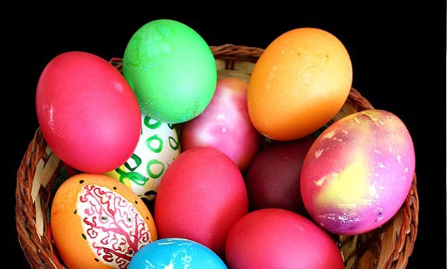 Bulgarian orthodox Easter Eggs - via Wikimedia Commons