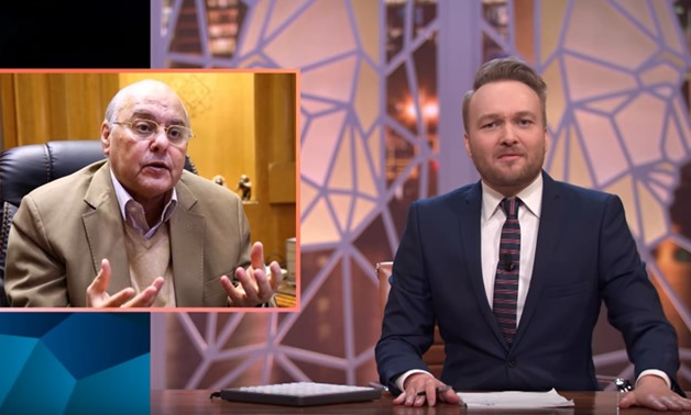 Dutch comedian, author and television presenter Arjen Lubach during his television program 'Zondag met Lubach' – Photo courtesy of YouTube
