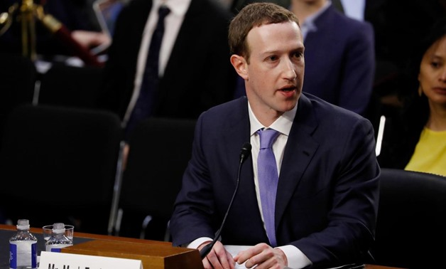 Facebook CEO Mark Zuckerberg testifies before a joint Senate Judiciary and Commerce Committees hearing regarding the company's use and protection of user data, on Capitol Hill in Washington, U.S., April 10, 2018. REUTERS/Aaron P. Bernstein