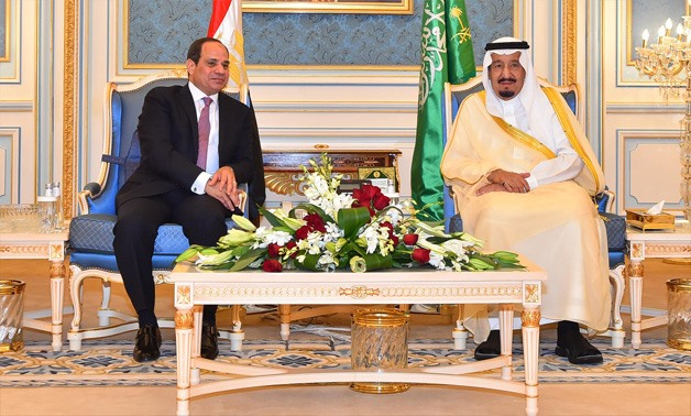 President Sisi (L) and King Salman (R)- File photo