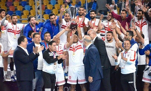 Zamalek is African Super Cup winner – Courtesy of Zamalek's official Facebook page