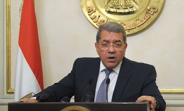 Finance Minister Amr el-Garhy - Youm7 (Archive)