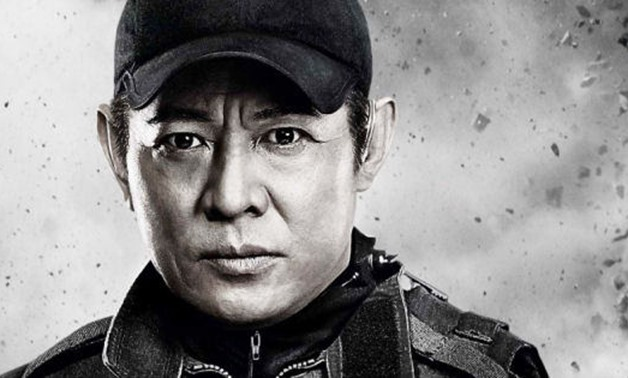 Photograph of Jet Li on the cover of The Expendables 2, May 31, 2017 -Tatiana T/Flickr