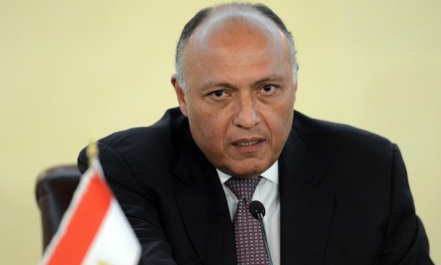 Foreign Minister Sameh Shoukry