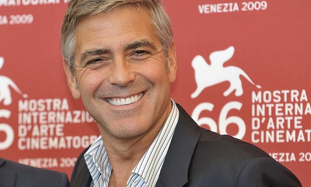 George Clooney at the Venice Film Festival, September 8, 2009 – Wikimedia /Nicolas Genin