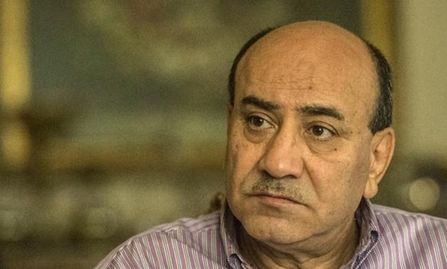 FILE- Former Head of Egypt's Central Auditing Organization Hesham Genena - AFP