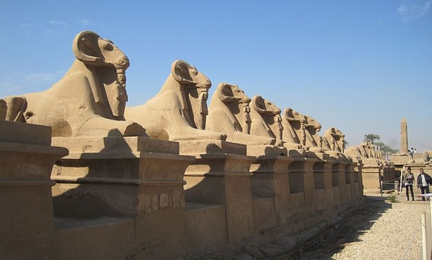FILE: Avenue of Sphinxes, January, 2011 – Wikimedia/Ianpudsey