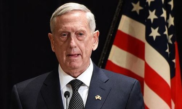 US Secretary of Defence James Mattis