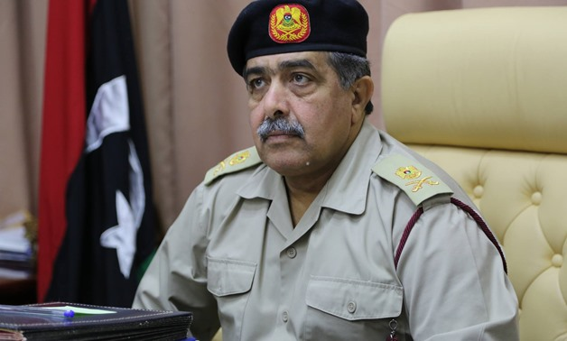 Libyan army's chief of staff Abdel-Razik Al-Nathouri