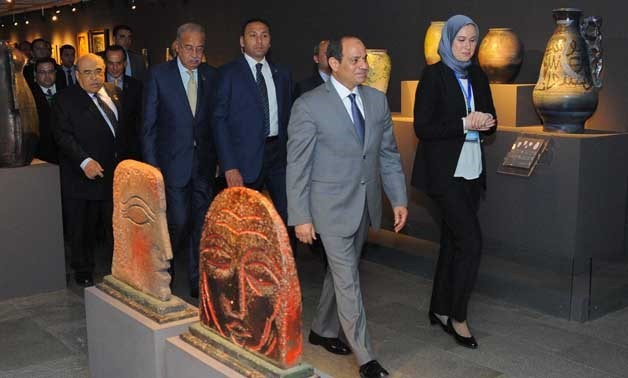 Sisi stresses Bibliotheca Alexandrina's anti-extremism role