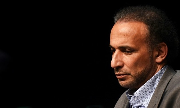 Rape-accused Swiss Islamic scholar Tariq Ramadan has been detained in Paris, according to information from a legal source - AFP/File/MEHDI FEDOUACH