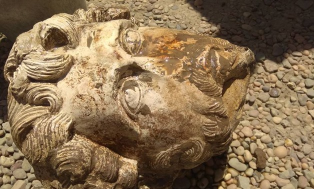 Two important exceptional discoveries occurred on Sunday – the discovery of a marble head of Roman Emperor Marcus Aurelius in Aswan and an Osirian temple in Luxor – Ministry of Antiquities Official Facebook Page.