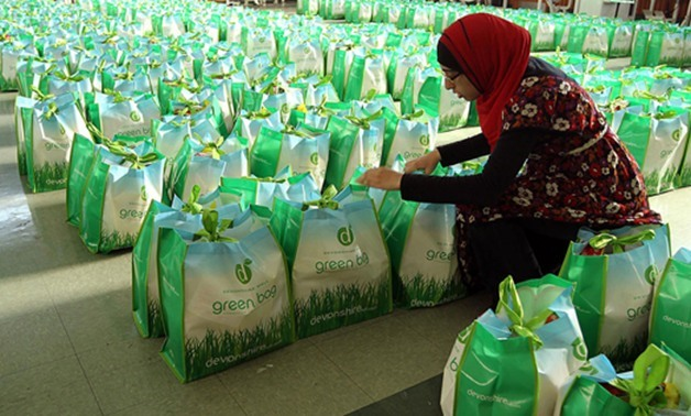 "Government will distribute one million bags known as the ""Ramadan package"" to poor families for free – file photo"