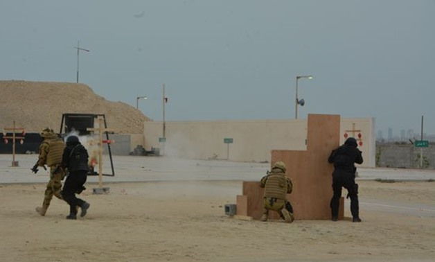 Egypt, Bahrain conclude Khaled Ibn al-Waleed joint military drills - press photo